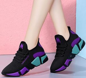 Sneaker Frauen Mesh-Canvas beiläufige klassische Schuh-Turnschuh-Designer-Mode Luxus Espadrilles Schuh Fabrikförderung