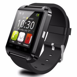 Bluetooth U8 Smart Watch Wristwatch U8 U Relojes para iPhone HTC Android Teléfono Smartphones 3 colores SmartWatch Smart Bracelet DHL
