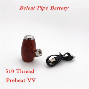 Bateria da tubulação da tubulação de Belet PREVATE Variável da tensão eletrônica Vapor do Vaporizador E-Cig de Vaporizador 900mAh Bateria recarregável e-tube mod