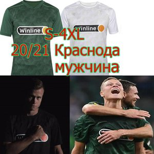 20 21 FK Krasnodar 4xl Futebol Jerseys 2020 21 Krasnodar Home Away Cabella Wanderson Claesson Petrov M.Berg Suleymanov Camisa de Futebol Uniforme