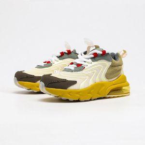 Travis Scott 270s React ENG Sneaker for Big Kids Cactus Jack Sneakers Little Boys 27C Sports Shoes Toddler Girls Girl Children Chaussures
