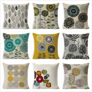 Sweet Life Cushion Cover Lower Home Decoration Decoration Cuscino Cuscino in stile rustico Cuscino 45 * 45cm Cuscini divano floreale Kussenhoes