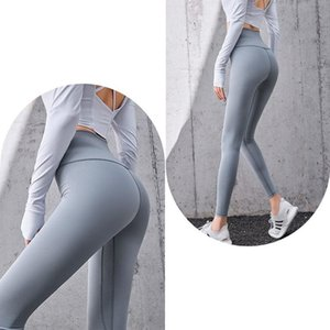 Sports Fitness Trousers Running Hips High Waist Abdomen Elastic Tights Feet Yoga Pants