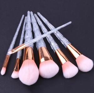 Makeup Brushes Set Foundation Blush Blending Eyeshadow Eyeliner Lip Cosmetic Tools Diamond Crystal Luxury Brush Kit 50sets