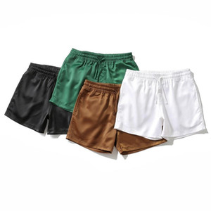 Sexy Mini Short Shorts Men Fashion Plus Size Shorts Vintage Nightclub Boys Lace-up Green Sports Running Beach 3xl