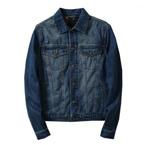 Denim Bimer Jacket Men Varsity Tops Windbreaker Jacket Jean Men Denim Jackets Chamarras Para Hombre Clothes 2019 CC50JK1