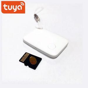Tuya Mini Anti-Perdido Dispositivo Smart Tracker Bluetooth Smart Alarm Locator Localizador Pets Kids Anti Perda Remoto Remoto Tracker1