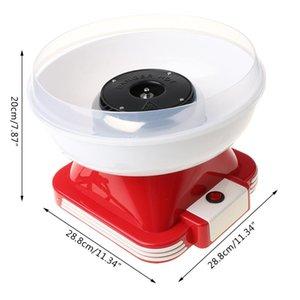 Mini Pamuk Şeker Floss Maker Moda Mini Pamuk Şeker Makinesi Doğum Günü Partisi A0NC