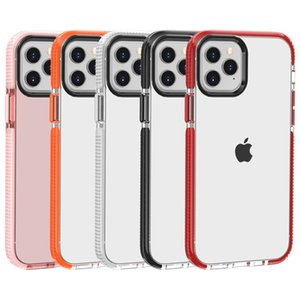 For Iphone 12 Clear Cell Phone Case Shockproof Soft TPU Back Cover For iPhone 12 Pro Max 11 pro max 12 mini
