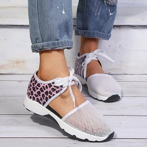 Hengsong 2020 New Spring Women's Shoes Casual Flying Woven Running Comfortable Hollow Mesh Breathable Sports Shoes #HQ5G