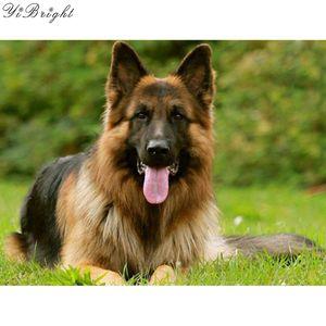 5D DIY Diamond Embroidery,Animal German Shepherd Dog Pet customization Diamond Painting,Cross Stitch,3D,Diamond Mosaic,Christmas