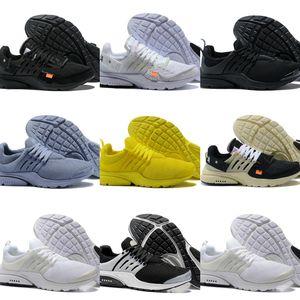 gros 2019The nouvelles chaussures TOP presto presto BR QS Respirez Femmes Noir Blanc Chaussures Homme Sport Chaussures de marche Plein Air jaune