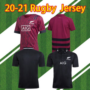 Alle Ankunft Neue 2020 Black Super Rugby Jerseys Sevens Rugby Shirt Maillot Camiseta Maglamien S-5XL