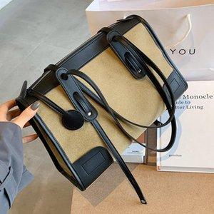 Mode Frauen Handtasche 2020 Mode Herbst und Winter Net rot All-Match New Style Single Shoulder in der Reißverschlusstasche Keine Tasche