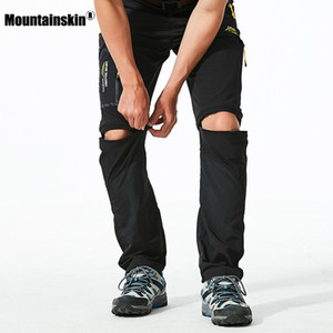 Alps 6xl men were quick drying detachable outer pants skinny men's shorts Hiking Camp gliding swimming trunks fishing pants