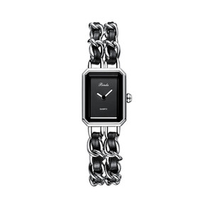 2020 Novas Mulheres Luxo Assista Quadrado Moda Vestido Relógios Clássicos Quartzo Top Quality Assista Especial Estilo Pulseira Relógio de Relógio