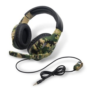 Camo Wired Gaming Headset PS4 Camouflage headphone Over Ear Headphone with Microphone for PS4 Xbox-One for Switch PC Video Games