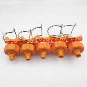 YS Plastic adjustable clamp eyelet nozzle,plastic clip-on nozzle,26988 single clamp nozzle,adjustable ball clamp eyelet clip nozzle