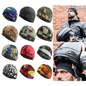 2020 Men Knitted Winter Cap Casual Beanies Camouflage Color Hip-hop Snap Slouch Skullies Bonnet Beanie Hat