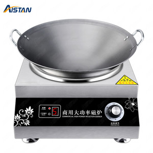 ZD3500-1 3500W   5000W Induction Cooktop 220V Commercial Induction Cooker Stove Stainless Steel Electric Countertop Burner