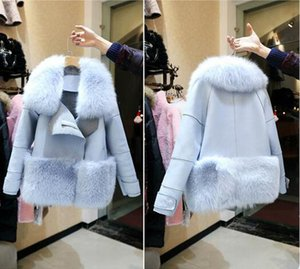 New Design 2016 Fashion Winter Women Fur Coat Woman Faux Fur Mujer Female Patchwork Short Winter Jacket Women Faux Fur