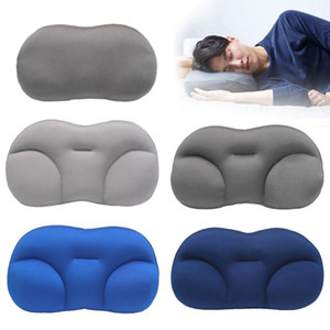 Breathable All-round Foam Particle Stuffed Nursing Neck Support Sleep Pillow Washable Travel Deep Sleeping Pillow Neck Support