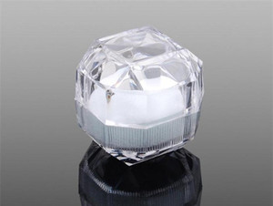 Fashion Acrylic Jewelry Packing Box Womens Ornaments Case Ring Earring Stud Storage Jewels Gift Con jllbKA jhhome