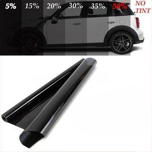 Araba Sunshade 25% / 30% / 50% Siyah Pencere Folyolar Tente Renklendirme Film Rulo Oto Ev Cam Yaz Güneş UV Koruyucu Sticker Filmler1