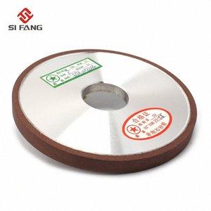 125mm reçine bağ şekil elmas Düz Disk Taş Grinder kalınlığı 6/8 / 10mm Düz Türü 150Grit% 75 HsEA # falt