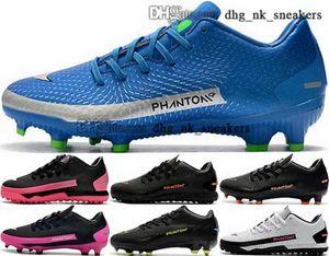 Tripler Black Chaussures 38 Crampons de Calcio Calcio Boots 46 Donne Mens EUR Size Uomini da uomo Scarpe da uomo FG AG Soccer Tacchetti 12 in TF Phantom GT