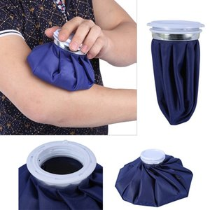 9-дюймовая настраиваемая синяя первая помощь здравоохранение холодной терапии ледяной пакет многоразовый спортивный травма ледяной мешок медицинское охлаждение льда сумка GWD2683