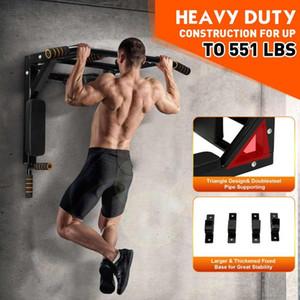 Porta a muro Barre orizzontali 250 kg Acciaio Acciaio Parete Pull Up Bar multifunzione Dip Station Heavy Duty Training Attrezzature per il fitness