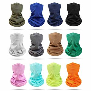 DHL Shipping Bandanas Neck Gaiter Headbands Headwear Balaclava Seamless Elastic Tube Face Scarf Outdoors for Men and Women X493FZ