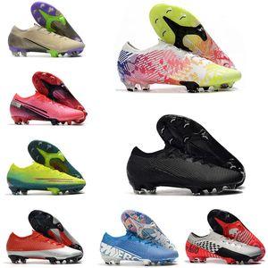 2020 hommes Mercurial XIII Elite FG 13 CR7 SAFARI Ronaldo Neymar NJR Rose 360 femmes Boy Football Chaussures de football Chaussures Taille 36-45