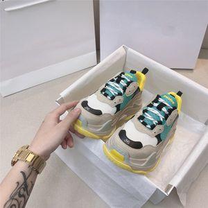 Vendita calda-Italiano Designer Top Uomini Donne Zapatillas Guiseppes Real Pelle Rivet Recreational Casual Shoe Arena Sneakers # 43288888