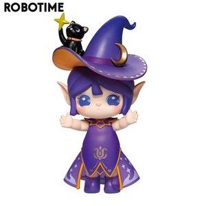 Caja de la persiana Robotime Rolife Serie Suri Acción Unboxing Juguetes Figura Muñecas Modelo especial exótico regalo para los niños, adultos 201016
