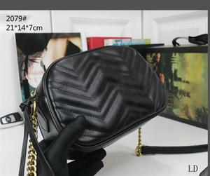 Nueva alta calidad de lujo de las mujeres bolsos de los bolsos de hombro famoso Oro Cadena Crossbody Bolsa Soho Disco hombro del bolso de la carpeta 5 colores