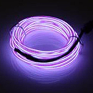 Neon LED EL Wire Cable Lamp Glow String Light Tube Decoration Festival Christma indoor outdoor Energy saving lights 12V 1 2 3 5M