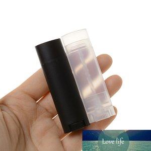 5 stücke leer nachfüllbar flasche kunststoff diy lippenstift lippe balm rohre oval deodorant container halter wachsonfläschchen
