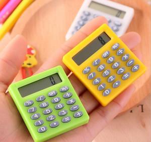 Student Multifunktionale quadratische Zifferrechner Kleine niedliche Mini-Prüfungsrechner Farbe Lernen Portable 8 Kleines wichtiges Jlljc