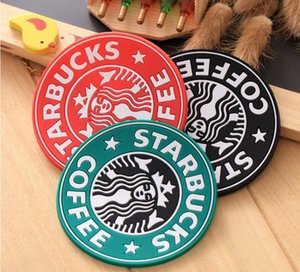 For 2019 New Silicone Coasters Cup Thermo Cushion Holder Starbucks Sea -Maid Coffee Coasters Cup Mat Free Ship