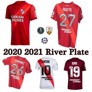 2020 2021 리버 플레이트 축구 유니폼 홈 떨어져 3 19 개 20 PRATTO 페르난데스 SCOCCO 팔라시오 CAMPEON 리베르 축구 셔츠