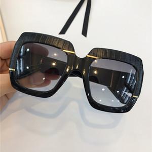 0484s Popular óculos de sol Mulheres Modelo Square Estilo de Verão 0484 Quadro de Pele de Cobra Top Quality UV Proteção UV Cor Mista com Caso Hot Sell