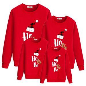 Wholesale Family Matching Outfits Christmas Sets Long Sleeve Family Shirt Christmas Sweatshirts