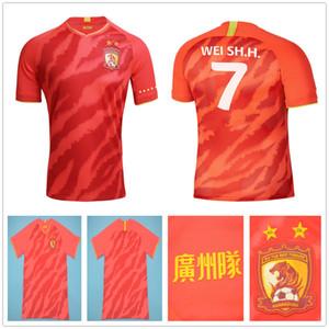 2020 2021 Guangzhou Evergrande Taobao fútbol jerseys PAULINHO A.TALISCA ZHENG ZH. GOULART personalizados 20 21 Inicio Guangzhou Hengda fútbol camisas