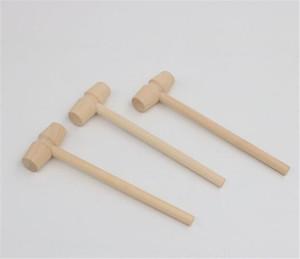 Mini legno sostituzione Hammer Balls Pounder legno Mallets Gioielli fai da te Crafts