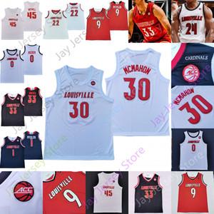 Louisville NCAA COLISTRY College Basketball Jersey Samuell Williamson Aidan Igiehon David Johnson Malik Williams Nwora Ryan McMahon Steven Enoch