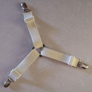 Letto-fogli clip 4 pezzi Triangolo regolabile Triangolo Anti-slip Materasso Materasso Fornitore Pinze Pinze da letto multi-specifica Set di biancheria da letto EWC3233