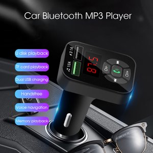 A9 Bluetooth Car MP3 Player FM Transmitter Handsfree Car Kit Adapter 5V 3.1A USB Charger With TF U Disk Audio Music Player