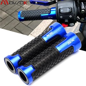 """7 8 """" 22mm Motorcycle Accessories Handlebar Grips For TMAX 530 T MAX 530 SX DX 2014-2020 2020 2020 Moto handle grips"""
